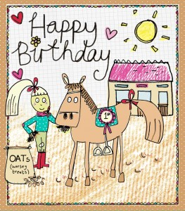 Amy Bradley licensed illustrations (Greeting card)