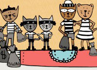 Abby the Acrocat Book illustrations